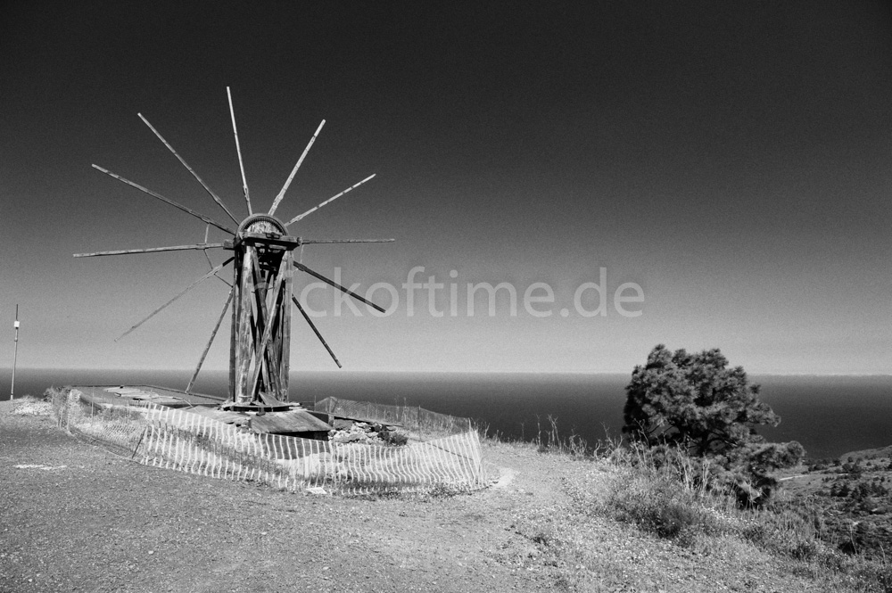 Getreidemühle auf La Palma