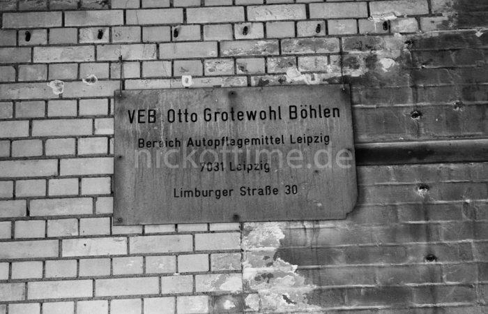 VEB Otto Grotewohl Böhlen